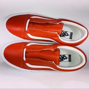 e4c32cd6e5da1d Vans Shoes - VANS Old Skool LX Italian Leather Mango Sneakers